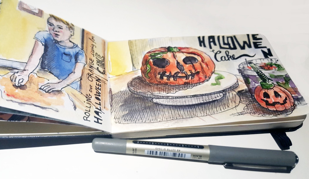 Small Moleskine Watercolour Sketchbook