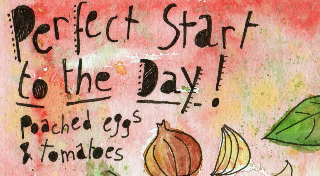 Illustrated Recipe Eggs in Tomato Sauce