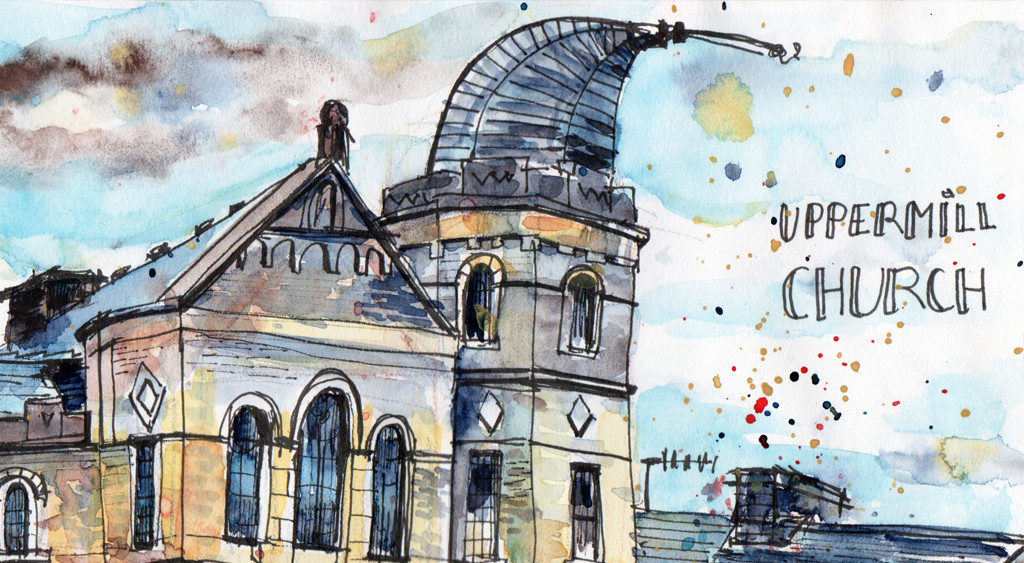 Sketching in Uppermill – A Mini Adventure