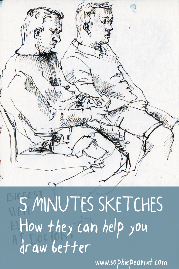 5 Minute Sketches - How they will help you develop your drawing practice