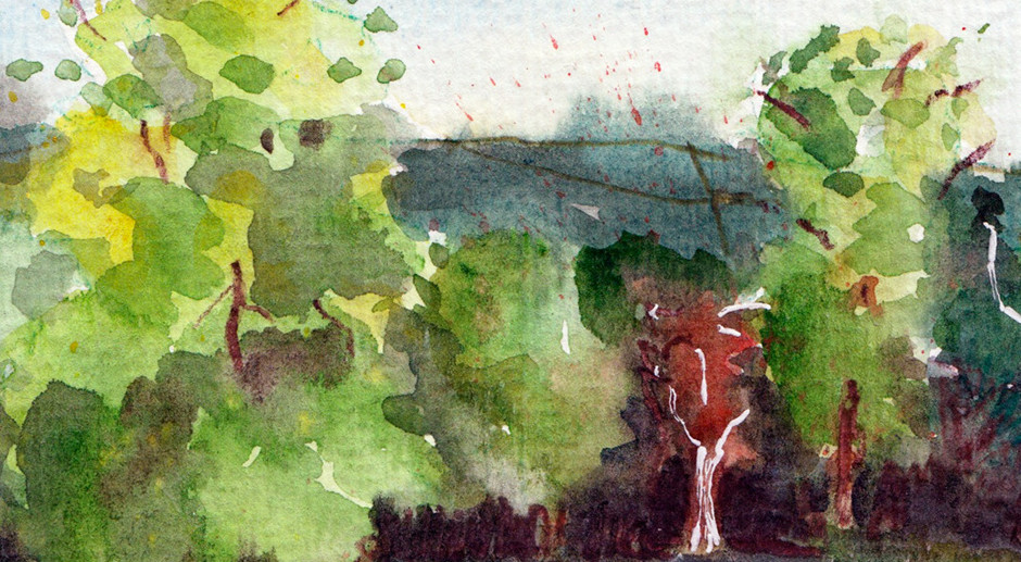 Watercolour Postcards to My Grandma