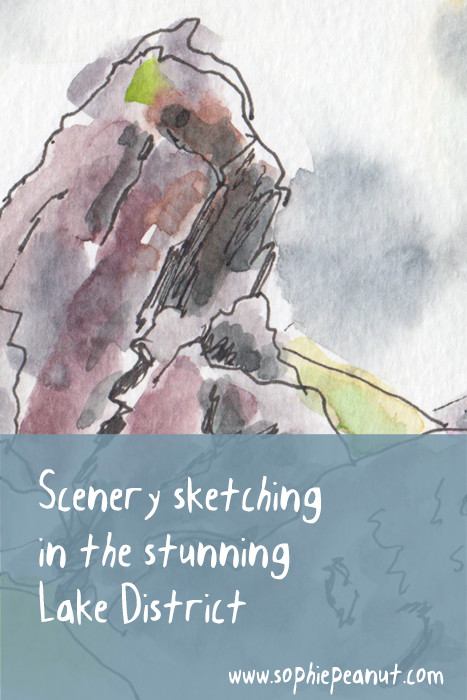 Scenery Sketching in The Lake District by Sophie Peanut
