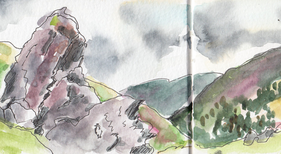 Scenery Sketching in The Stunning Lake District