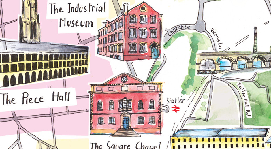 A Fun Hand Illustrated Map – Behind the Scenes