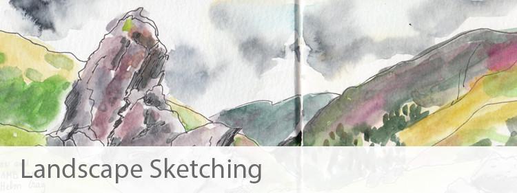 Landscape Sketches Portfolio - Sophie Peanut
