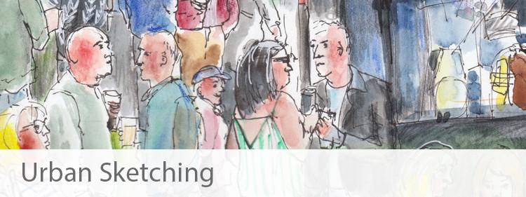 Urban Sketching Portfolio