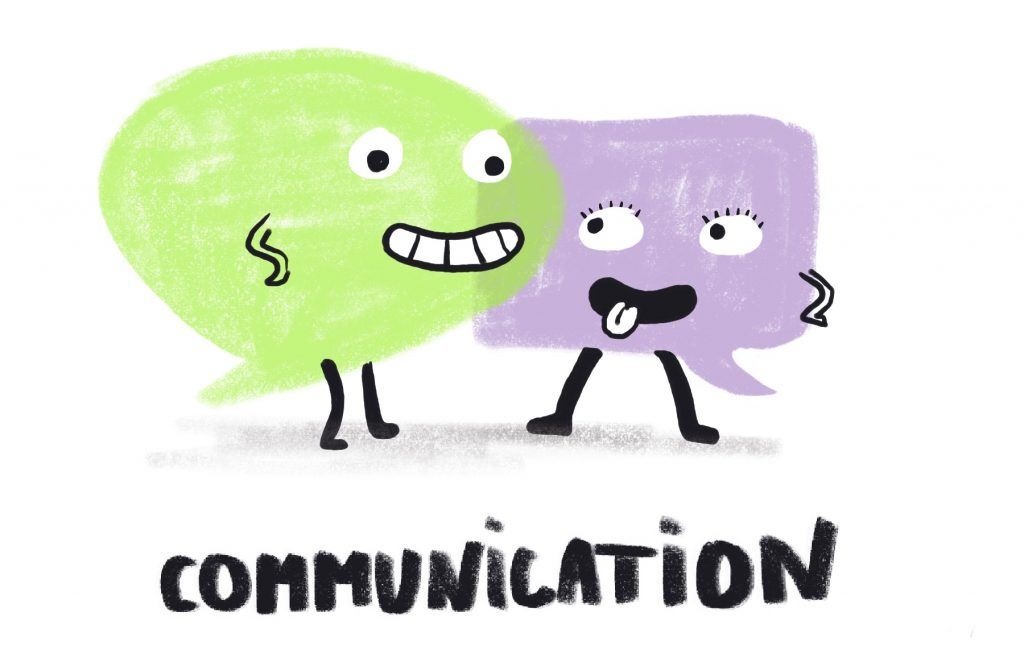 Invisible skills - communication Illustration by Sophie Peanut