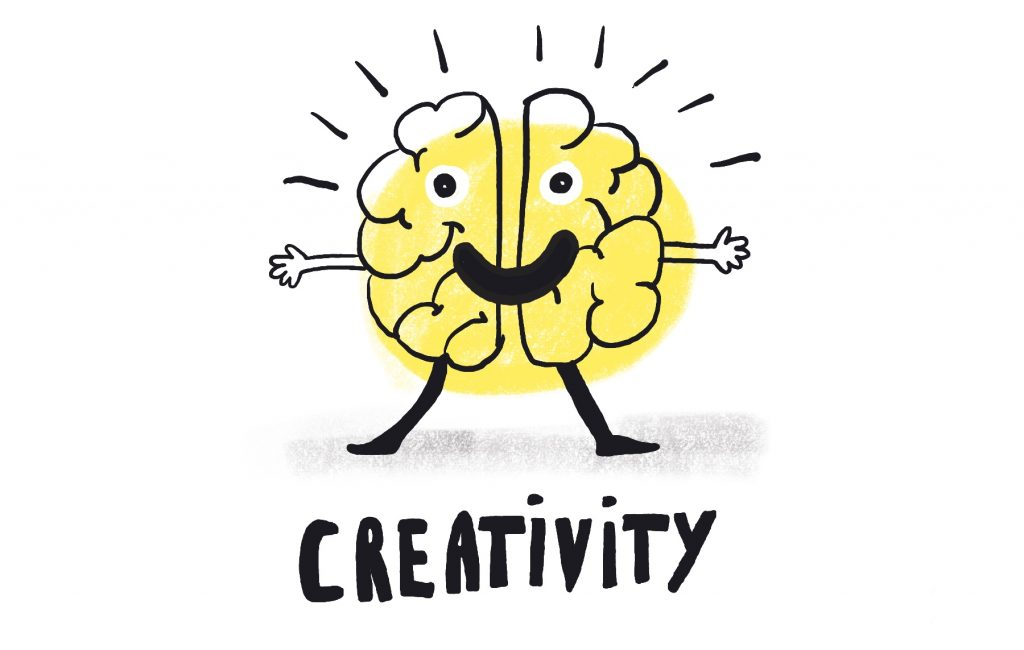 Creativity illustration by Sophie Peanut