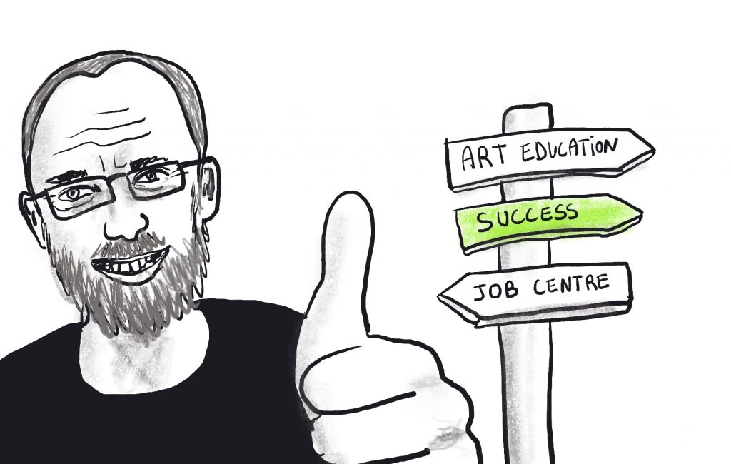 Success and are education go together - Illustration by Sophie Peanut