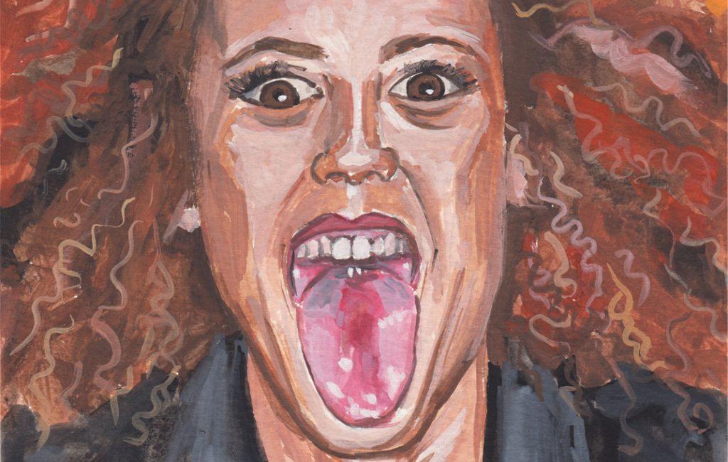 Spice Girl Melanie Brown Portrait by Sophie Peanut